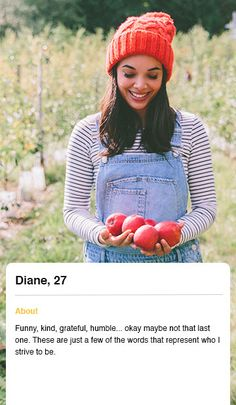 Witty female dating profile examples