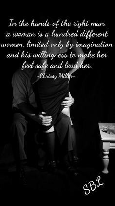 Submissive woman man quotes dominant