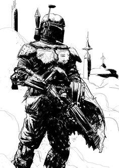 Star Wars - Boba Fett by Tristan Jones