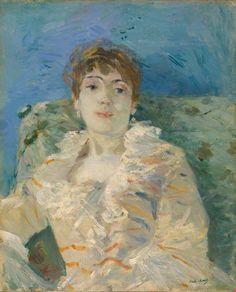 0e8c94929c22 Pierre-Jean Maurel - igormaglica  Berthe Morisot Girl on a Divan ca.
