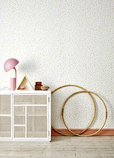 Sprinkles – Yellow by Cathy Nordström for Photowall.