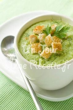 Soup/Salad Course: Cream of Broccoli Soup Cream Of Broccoli Soup, Asparagus Soup, Asparagus Recipe, Bowl Of Soup, Soup And Salad, Omelette Legume, Baby Food Recipes, Soup Recipes, Low Iodine Diet