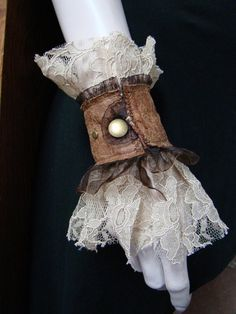 Victorian Steampunk Wedding | Steampunk wedding pirate victorian lace by FayeTalitycouture, $25.00