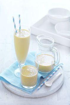 Mango & Banana Breakfast Smoothie   #CreativeGourmet #recipe
