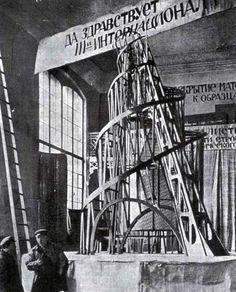 contructivism - vladimir tatlin - 3rd international tower