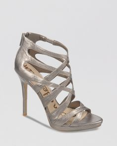 d48677390241 Sam Edelman Peep Toe Platform Evening Sandals - Ella High Heel Shoes -  Evening   Wedding - Bloomingdale s