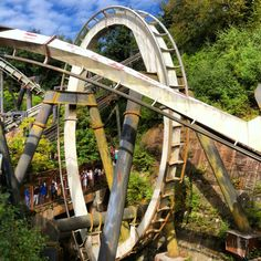 Nemesis at Alton Towers Best Roller Coasters, Roller Coaster Ride, Alton Towers Rides, Blackpool Pleasure Beach, Beach Rides, Amusement Park Rides, 15th Birthday, Days Out, Abandoned Places