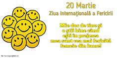 20 Martie - Ziua Internațională a Fericirii Martie, Comics, Cartoons, Comic, Comics And Cartoons, Comic Books, Comic Book, Graphic Novels, Comic Art