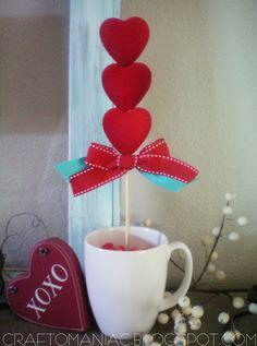 DIY - The Easiest Heart Topiarys