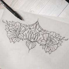 underboob lace sternum designs - Google Search