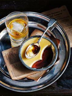 whiskey crème caramel : donna hay