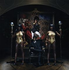 Santigold - Master of My Make-Believe.  Not quite as good as the last album.  Disparate Youth and The Keepers are great songs.