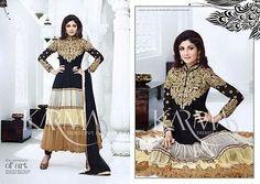 Designer Asian/Indian Anarkali Suit Traditional NEW