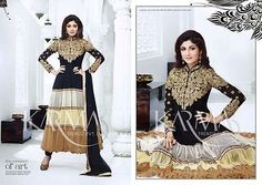 Designer Asian/Indian Anarkali Suit Traditional NEW