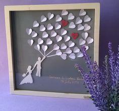 Cornice di nozze regalo sposi in legno di MacchiavelliArtLegno
