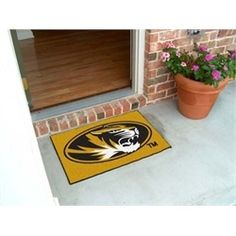 Missouri Tigers Mizzou Door Mat Rug Doormat