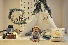 Baby First Birthday Cake, First Birthday Photos, Birthday Ideas, Baby Girl Photography, Birthday Photography, Children Photography, Baby List, Baby Party, Birthday Balloons