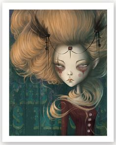 Leo - Afterland character by Elin Jonsson for Imaginary Games Dark Art Illustrations, Illustration Art, Gothic Fantasy Art, Macabre Art, Photo D Art, Goth Art, Expressive Art, Weird Art, Portraits