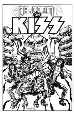 kiss comic 1977 alternate splash ernie chan