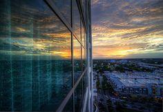 Midtown Miami Sunset by Midtown Miami Now, via Flickr