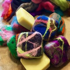 FELTED SOAP A Super Simple DIY