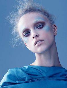 Credits: Photographer: Paul Cruz Stylist: Leah Levin Hair: Mara Schiavetti Model: Marcelina at N.Y. Models
