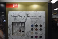 Showcasing the new Formica® Collection at Retail Design Expo: a selection of 113 new designs ideal for retail application; displaying the versatility of the new Collection across environments including beauty and cosmetics, fashion, and supermarkets