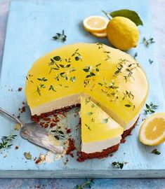 gin-and-tonic-cheesecake - Delicious Magazine