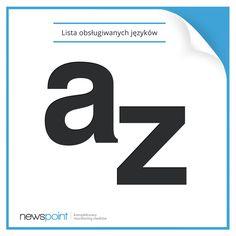 O Newspoint. Czy wiecie, że…  rozszerzyliśmy listę obsługiwanych języków do 18, a ze względu na międzynarodowych partnerów mamy nieograniczone możliwości w tym zakresie?