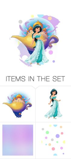 """Princess Jasmine"" by gamelicker ❤ liked on Polyvore featuring art"