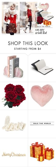 """""""#PolyPresents: Wish List"""" by oberk ❤ liked on Polyvore featuring Bellroy, Nordstrom Rack, National Tree Company, contestentry and polyPresents"""