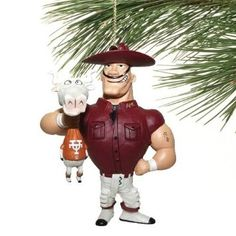 Amazon.com: Texas A Aggies vs. Texas Rivalry Holiday Ornament: Home & Kitchen
