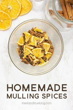 Follow this easy recipe to make your own Homemade Mulling Spices Holiday Gift! Dried Orange Peel, Dried Oranges, Christmas Craft Projects, Christmas Time, Make Your Own Labels, Mulling Spices, Wine Bottle Tags, Easy Gifts, Craft Tutorials