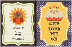 Free Thanksgiving Printables {Craft}