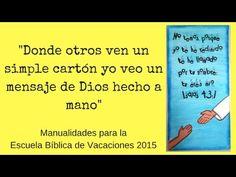 Manualidades para la  EBV 2015, Isaías 43:1 - http://cryptblizz.com/como-se-hace/manualidades-para-la-ebv-2015-isaias-431/