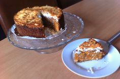 http://www.fitterbij.nl/536/  Worteltaart van Cynthia onze Foodie