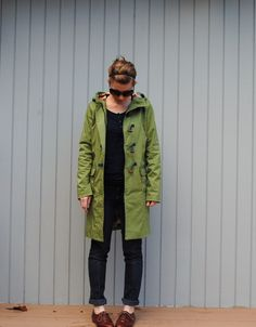 Hooded Duffel Coat – Easy Craft and Sew