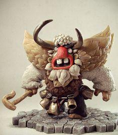 Bulgarian folklore character sculpted in ZBrush by Borislav Kechashki