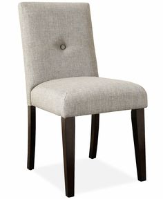 Addison Dining Room Chair, Button Tufted - Dining Chairs - Furniture - Macy's