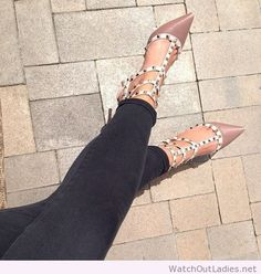 Luxury high heels accessories Valentino shoes