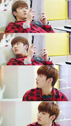 to people watching legend of the blue sea: that cute hacker taeoh is cross gene's leader shin please love them  #taeoh