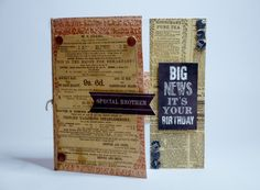 Card made by Phillipa Lewis using Man Made from Craftwork Cards.