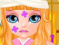 Bebek Barbie Hasta Oyunu Indirmeden Oyna Bebek Barbie Hastalandi Ve Hastaneye Gitmesi Gerekiyor Sizler Bebek Barbienin Ba Barbie Bebek Ve Oyun