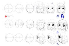 Manga Girl Tutorial by kangghee