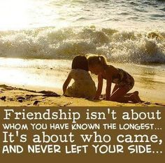 What every friendship should be!!