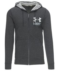 Mega cool Under Armour hætte sweat m. zip Under Armour Fitness Bluser til Herrer til enhver anledning