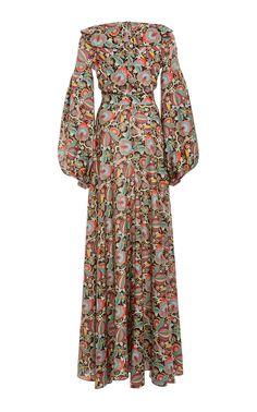 Flash Sale Fashion Prints And Floor Length Dresses – Wakasia Abaya Fashion, Modest Fashion, Women's Fashion Dresses, Modest Dresses, Elegant Dresses, Cotton Gowns, African Print Dresses, Floor Length Dresses, Mode Hijab