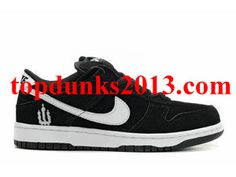 best service 2111f f9dbd Wholesale Weiger Black White Nike Dunk Low Pro SB Cheap White Nikes, Nike  Dunks,