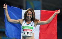 Marie-Amélie LE FUR record monde saut longueur et 400m- Rio 2016 paralympique