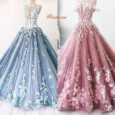 Best Prom Dresses, Blue Wedding Dresses, 15 Dresses, Ball Dresses, Elegant Dresses, Pretty Dresses, Evening Dresses, Fashion Dresses, Debut Gowns